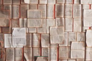 Books represent written communication